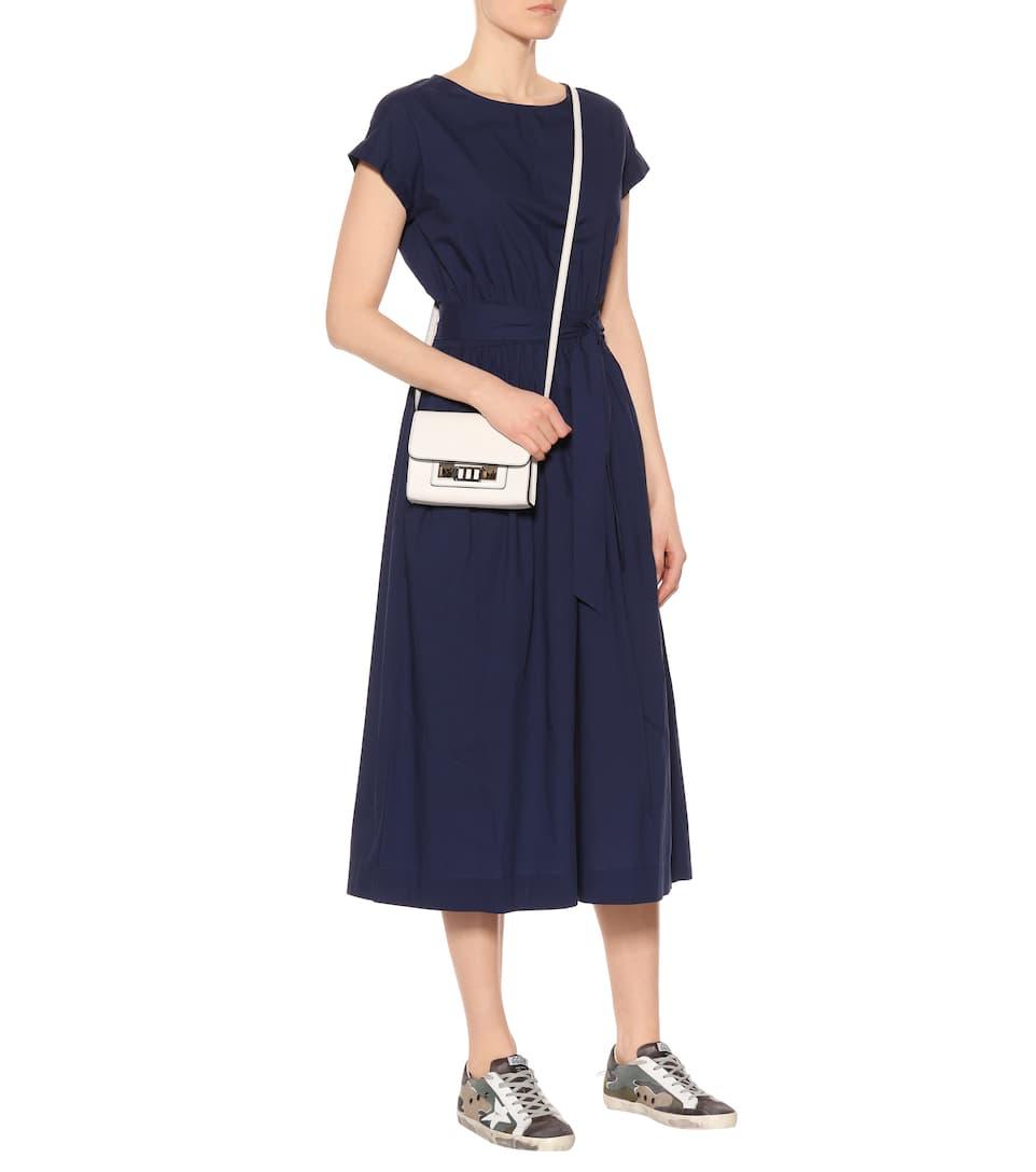 Vestido popelina de Indigo Woolrich de algodón r5rwZvT