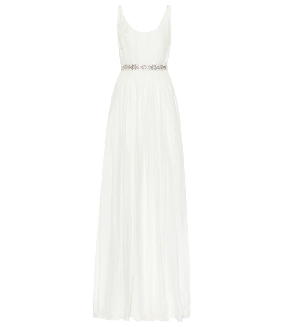 Jade Silk Gown by Stella Mc Cartney