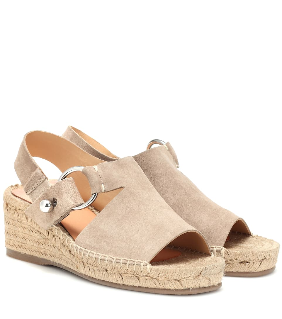 10cd6123d24 Arc Suede Wedge Espadrilles