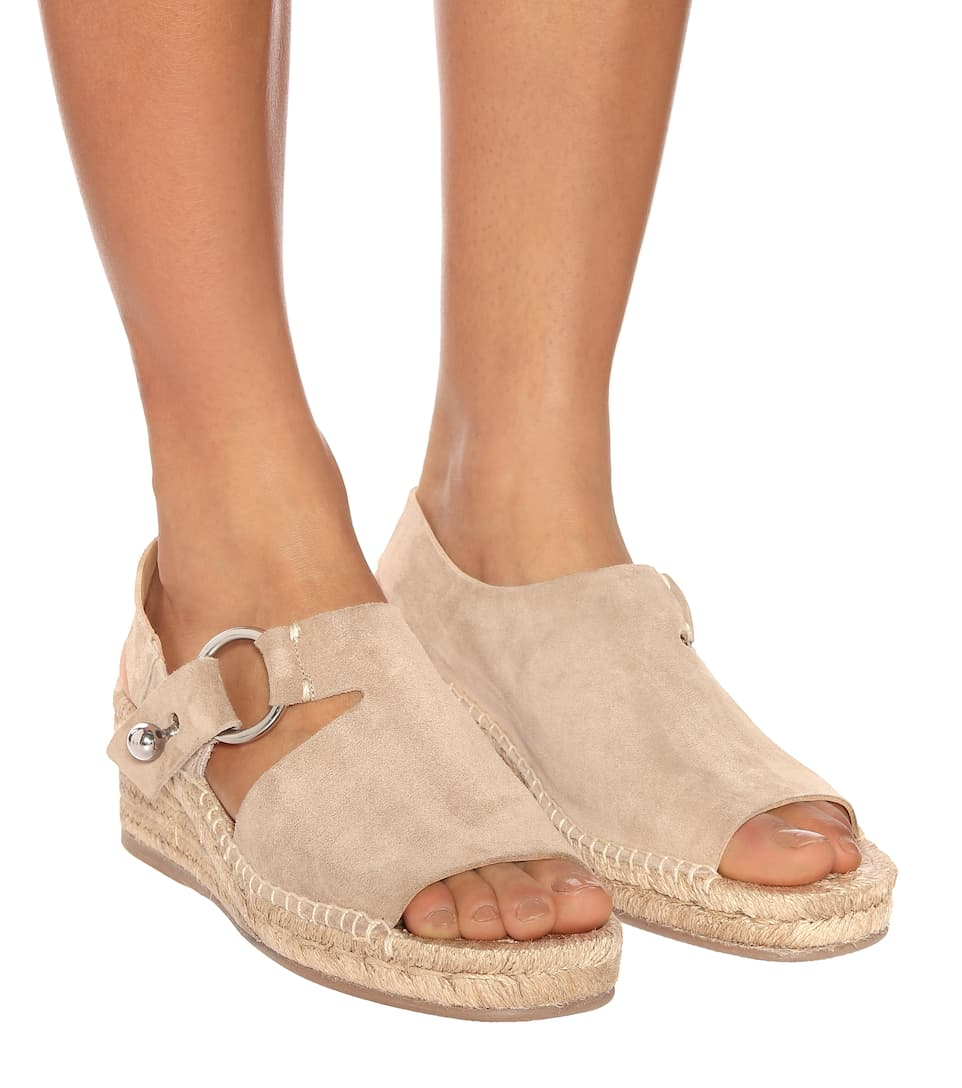 f726c5ac276 Arc suede wedge espadrilles. Rag   Bone