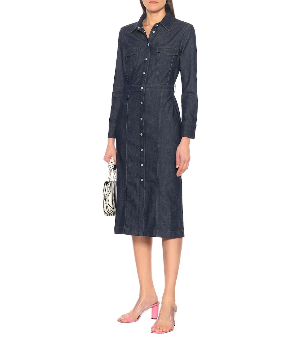 7 For All Mankind - Luxe denim shirt dress