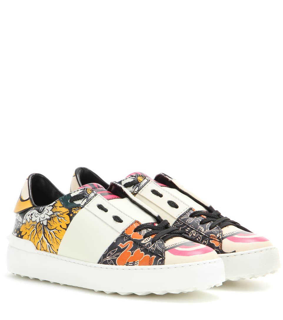 Valentino Printed Sneakers iCckpe7rb