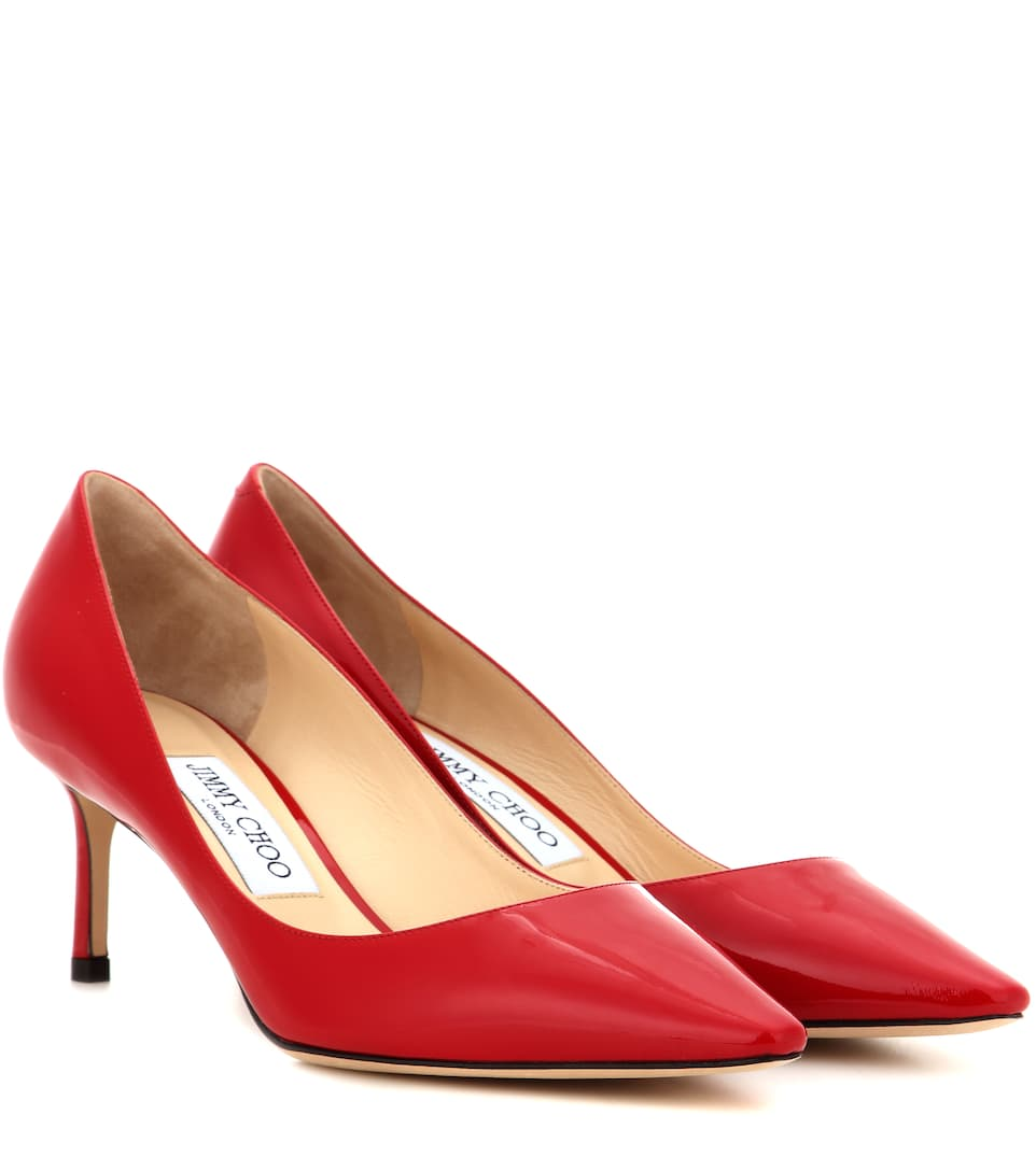 Jimmy Choo Pumps Romy 60 aus Lackleder