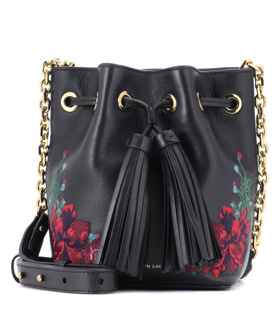 Polo Ralph Lauren Bucket-Bag aus Nappaleder