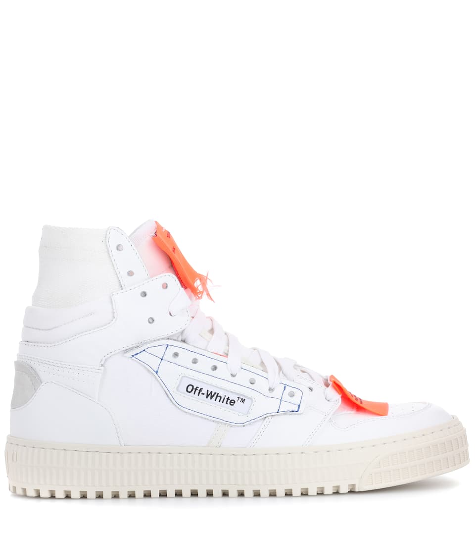 recommend cheap price Off-White Exclusive to mytheresa.com – leather sneakers for sale online i5FMzMVU