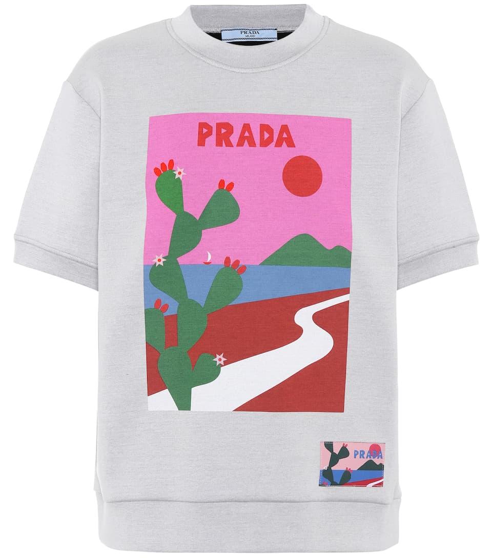 Prada Printed Sweatshirt