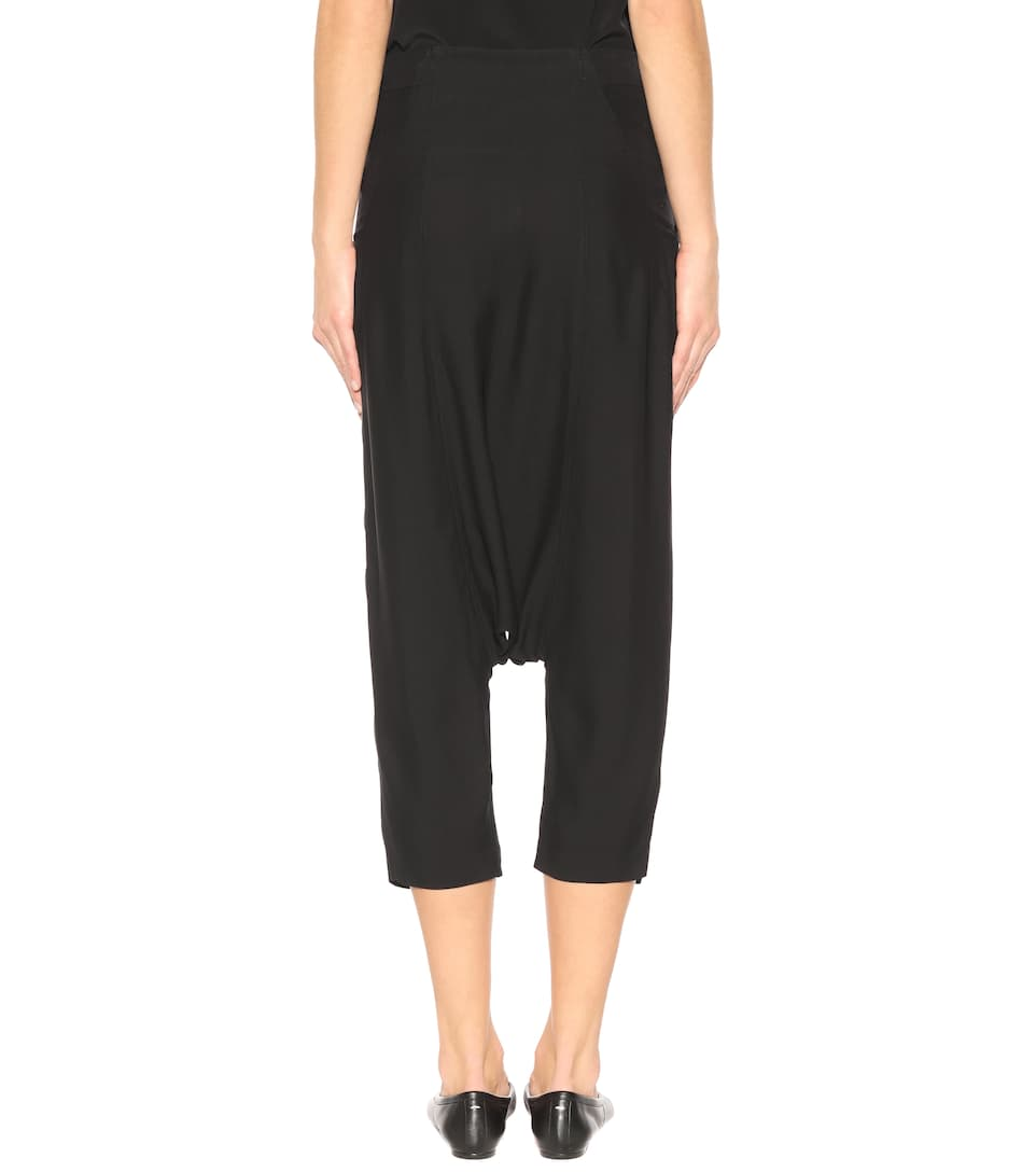 Sale Best Sale Forever Swing crêpe trousers Rick Owens Cheap Sale Best Sale Limited Edition Sale Online Free Shipping Fast Delivery Footaction Cheap Online qDHuORtP