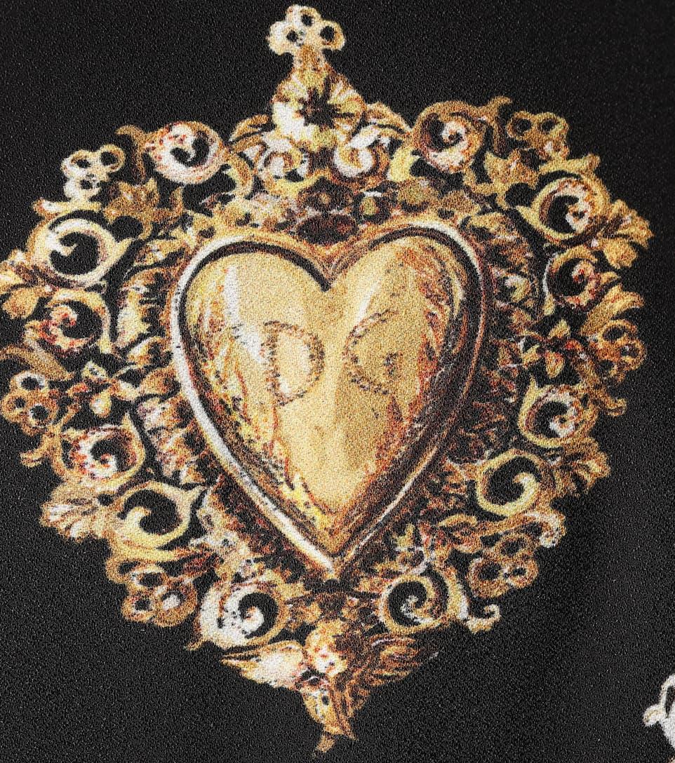 Dolce & Gabbana Bedrucktes Midikleid