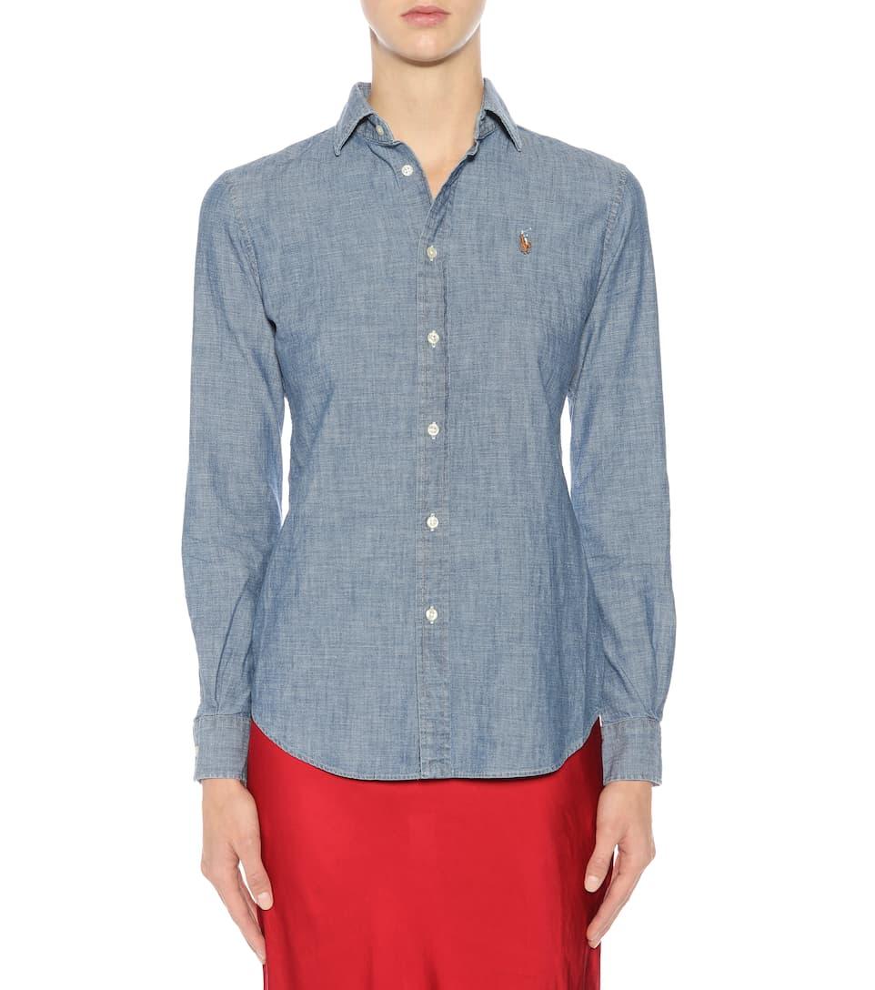 Polo Ralph Lauren Slim-Fit Hemd aus Baumwolle