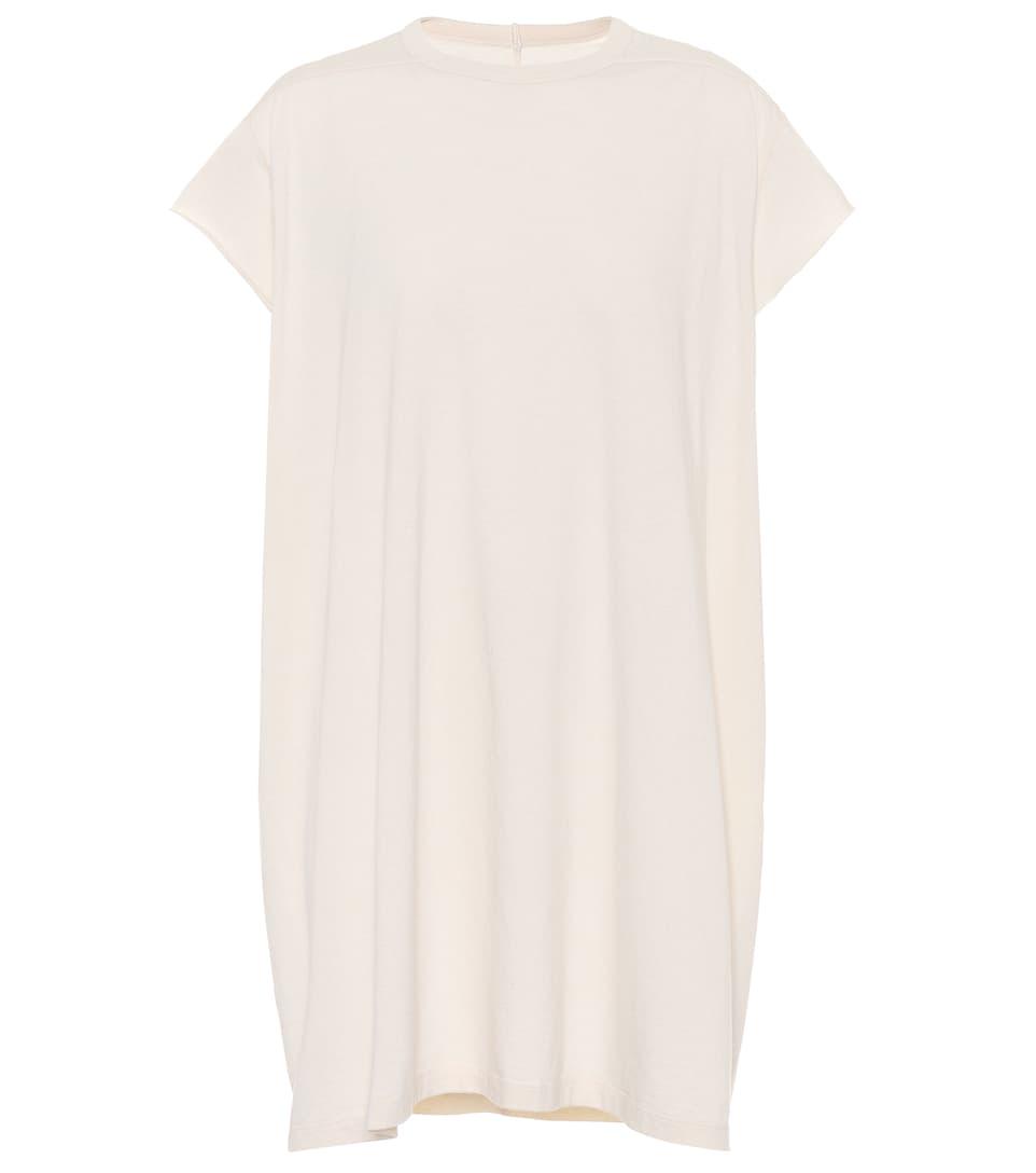 T-shirt Long En Coton Rick Owens