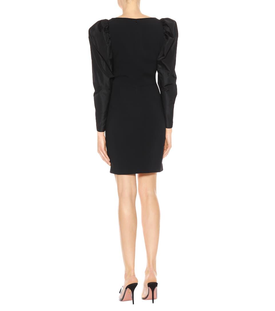 Visit Mireya taffeta and crêpe dress Stella McCartney Find Great Sale Online Low Price For Sale U252zZ