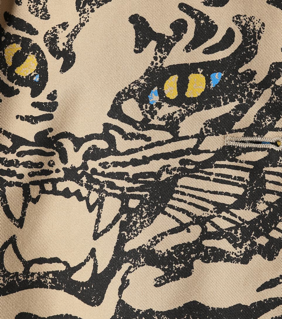 VALENTINO Clothing TIGER RE-EDITION COTTON-BLEND COAT