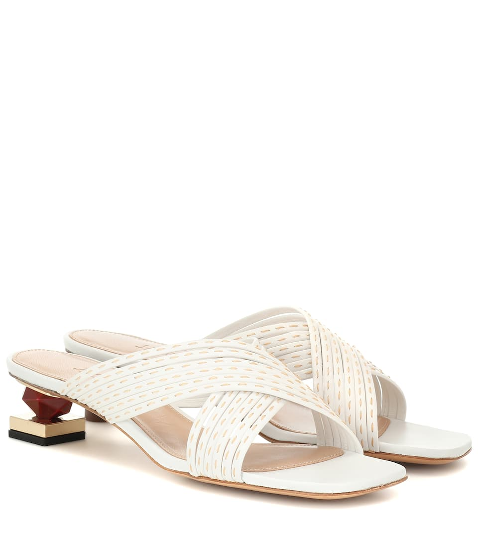 Castana Leather Sandals by Jacquemus