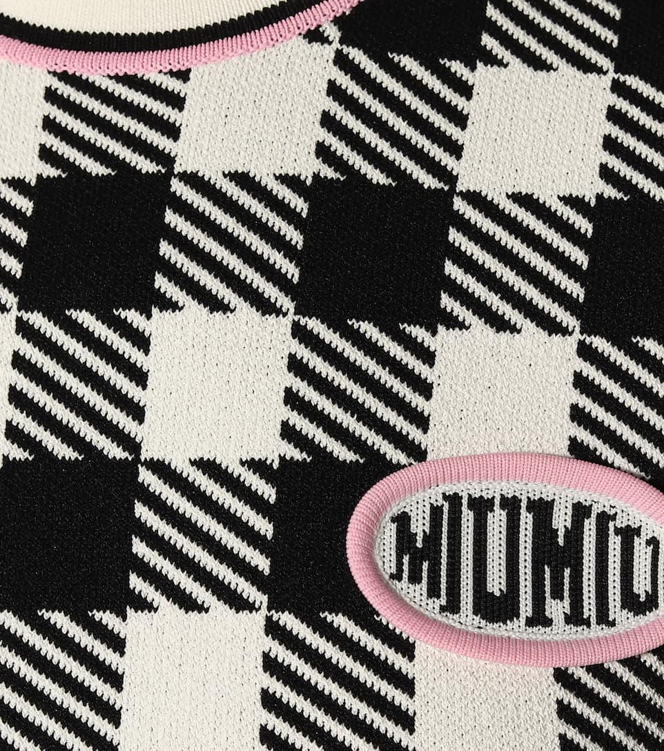 A Miniabito Miu Miu Quadri Miniabito WDH2eE9IY
