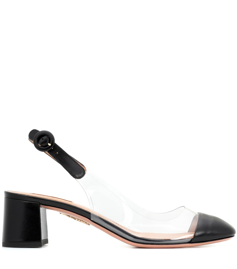 Aquazzura Optic slingback e Mytheresa Pumps plexi in pelle qF7wxrEq6