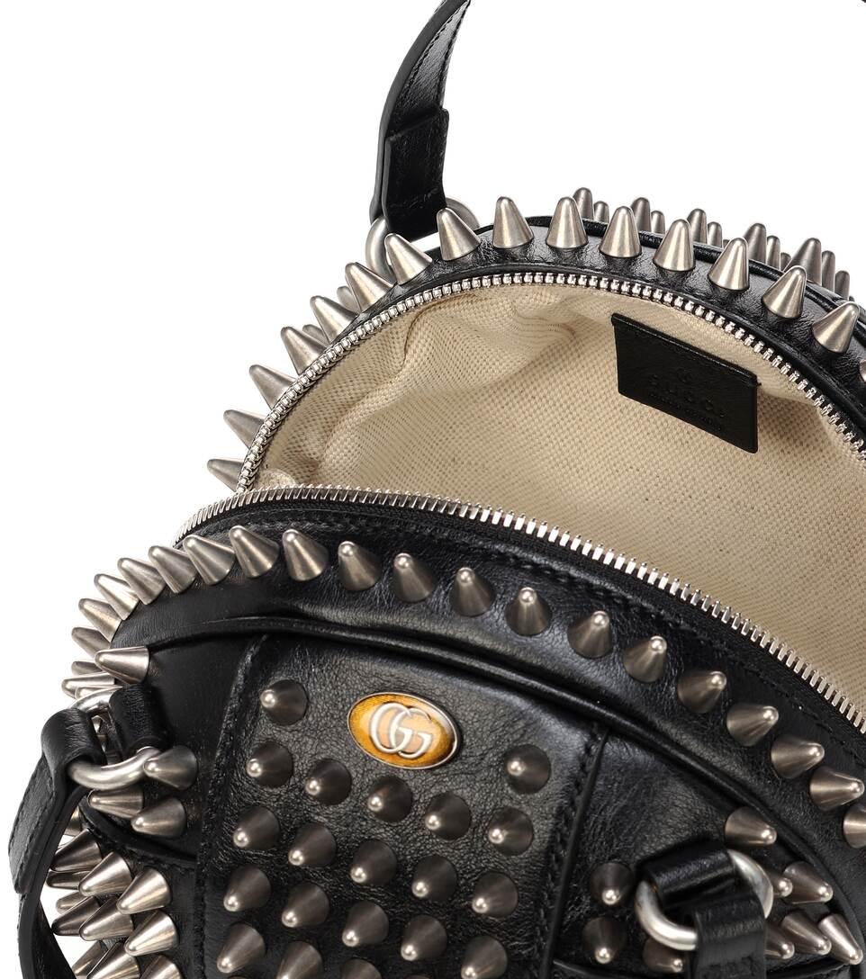 9f30935ffdc1 Tifosa Mini Studded Leather Tote - Gucci | mytheresa.com