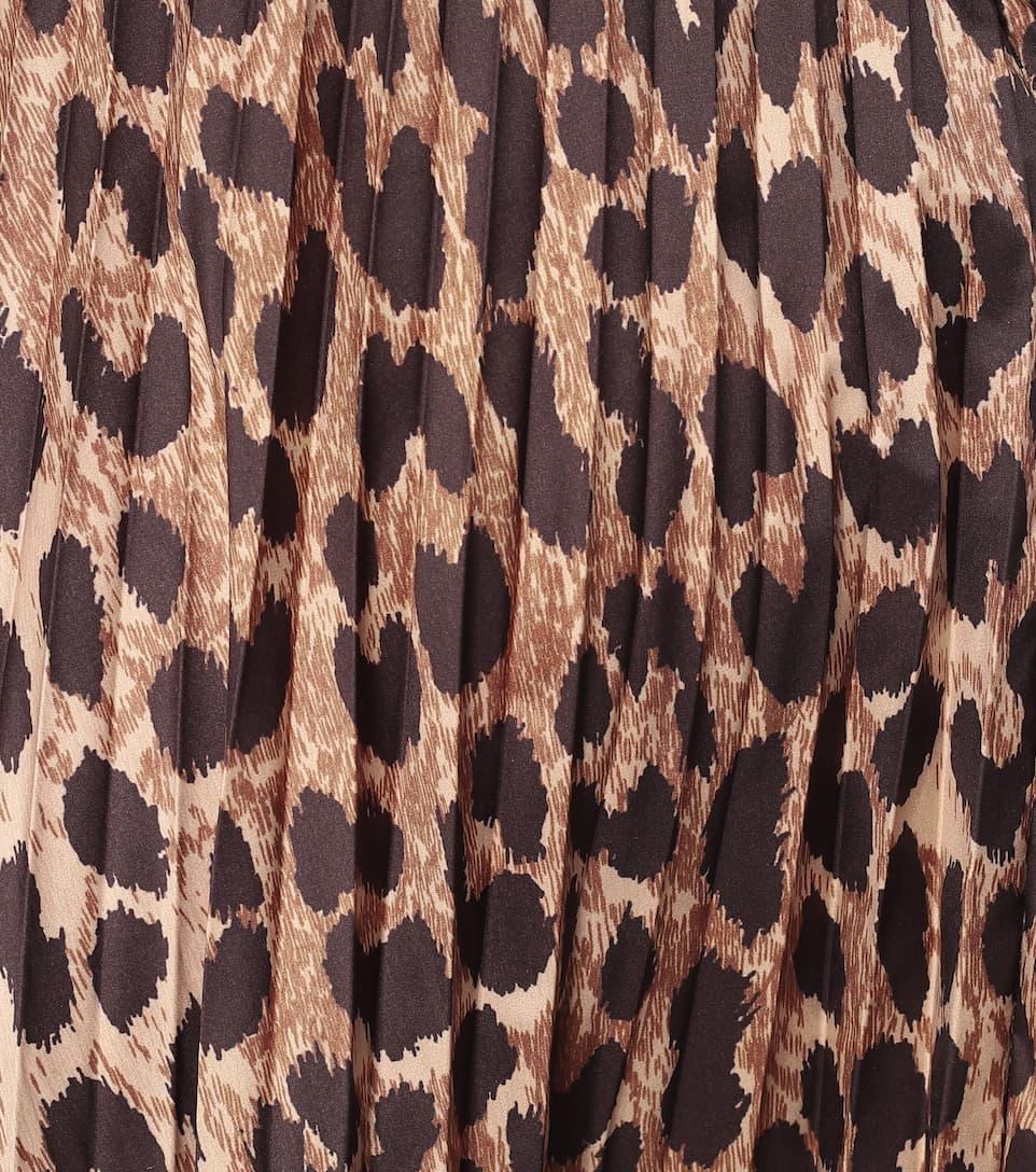 Balenciaga - Leopard-print midi skirt