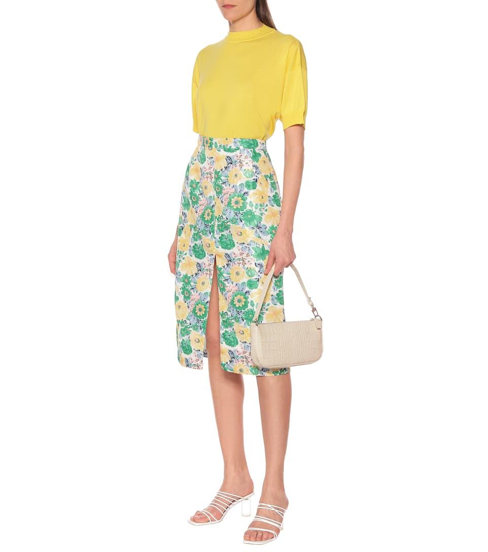 Plan C - Floral duchesse skirt