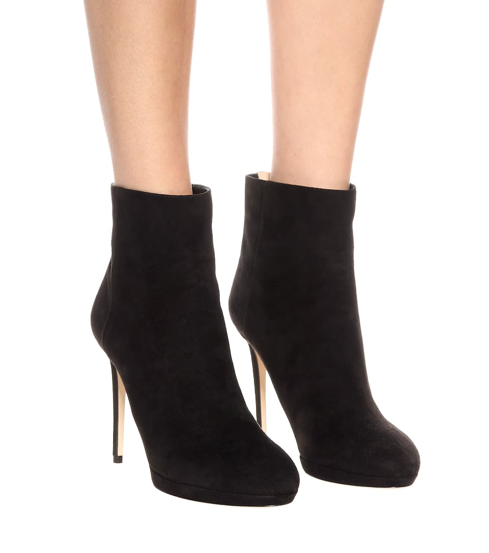 99fa1cb594a Harvey 100 suede ankle boots. Jimmy Choo