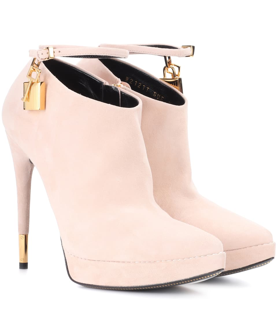 Tom Ford Ankle Boots aus Veloursleder