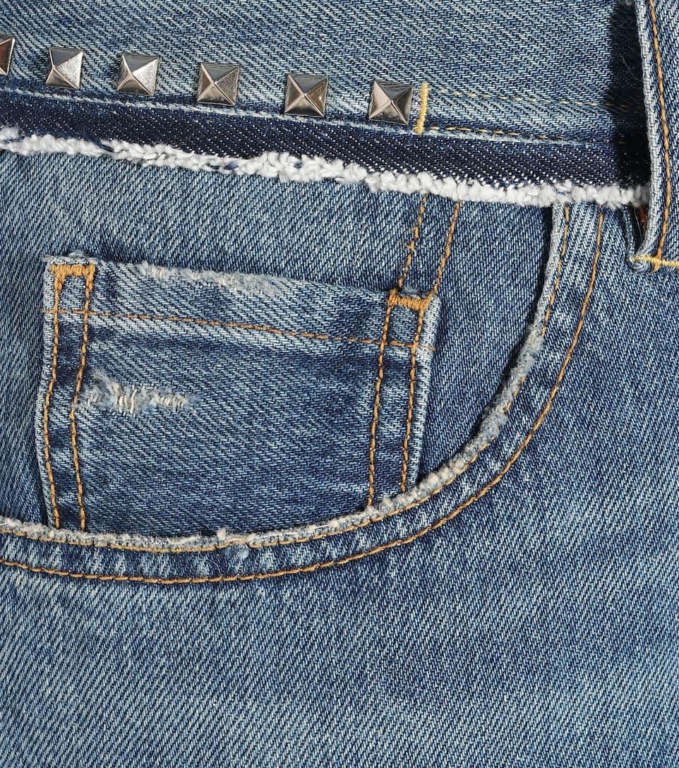 Jeans Cloutés Valentino Rockstud Sans Titre