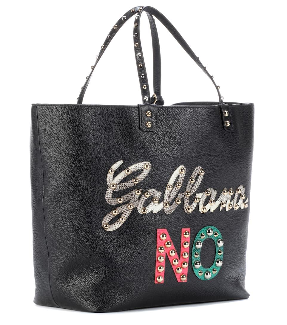 Leder aus Dolce amp; Beatrice amp; Shopper Dolce Gabbana TUaPB1aSK
