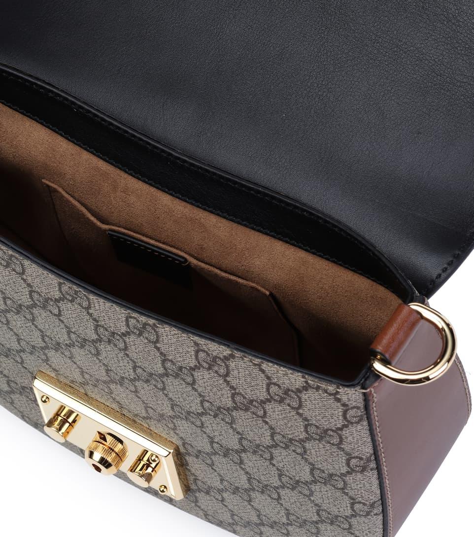 Gucci Schultertasche Padlock GG mit Leder Günstig Preis-Kosten 5myel