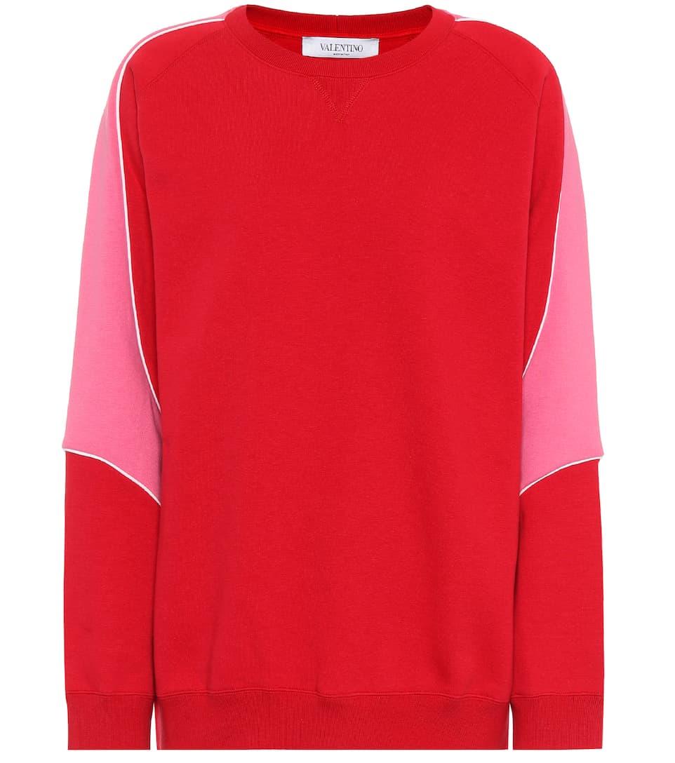 Valentino Sweatshirt aus Baumwolle Spielraum Komfortabel URSn8UtZby