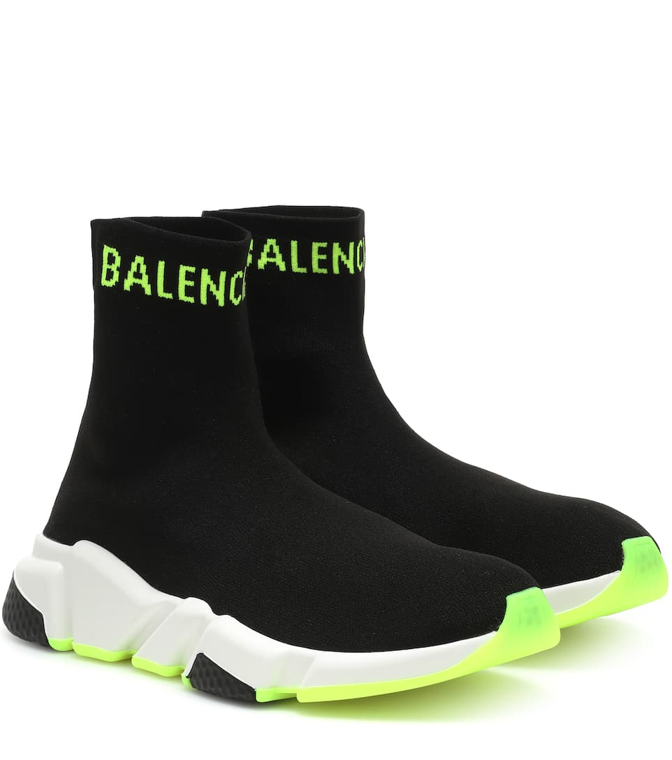 Balenciaga Sneakers Speed Trainer in jersey stretch