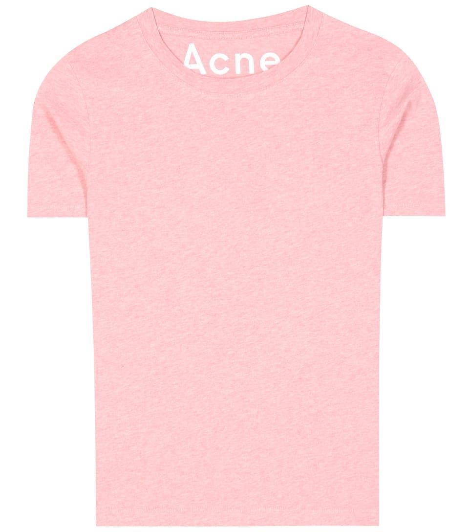 Acne Studios Zwei T-Shirts Dorla aus Baumwoll-Jersey