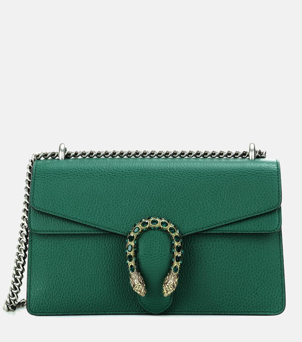 b87129b040378 Dionysus Small Leather Shoulder Bag - Gucci