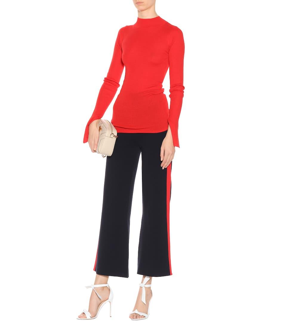 Pantalon Large En Coton De Stella Mccartney