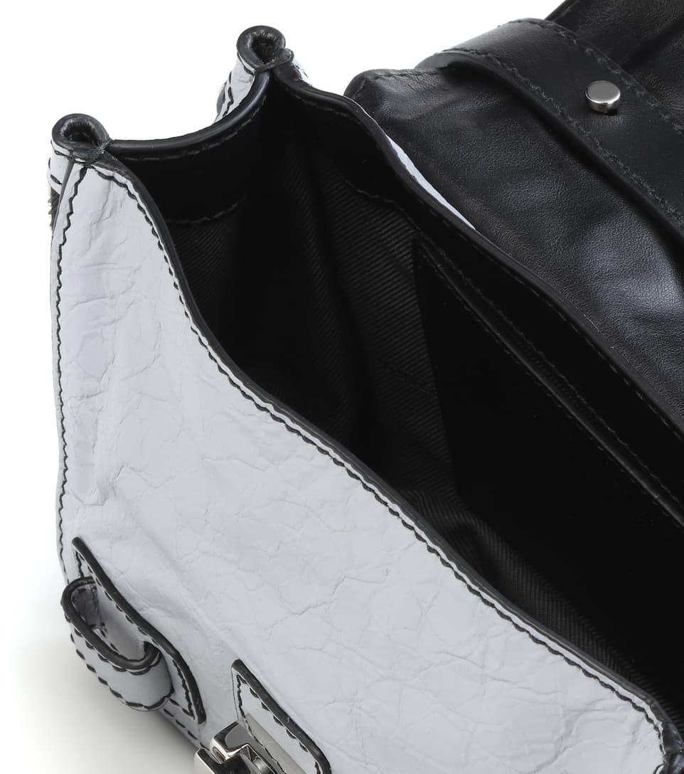 Proenza Schouler Schultertasche PS1+ Mini aus Leder