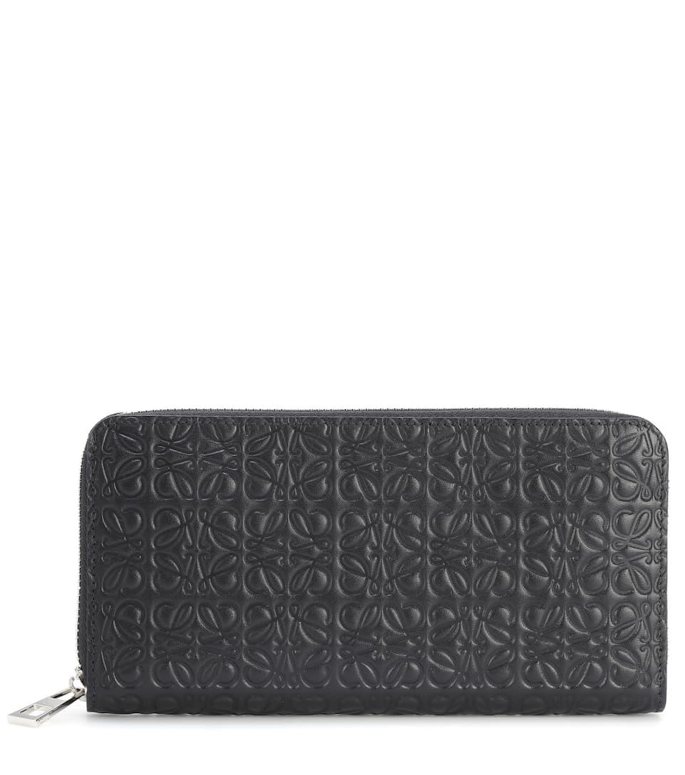 Zip Around Leather Wallet  cf399387bceab