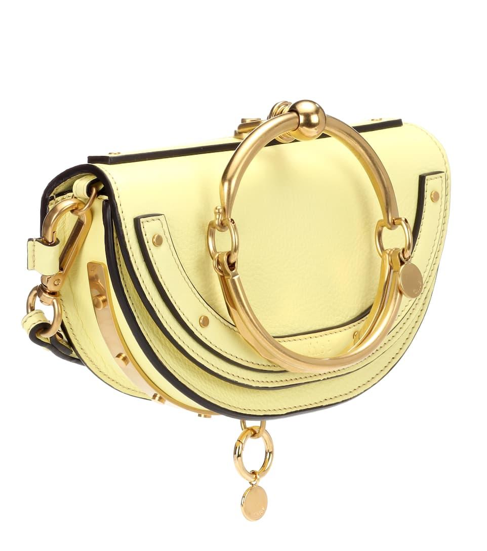 Günstigen Preis Kaufen Rabatt Chloé Crossbody-Tasche Nile Minaudière aus Leder Der Günstigste Günstige Preis Erschwinglicher Verkauf Online HTXGl0ENo