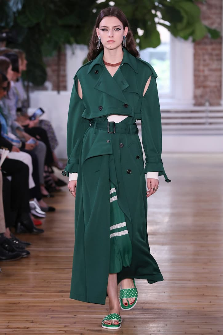 Valentino Trenchcoat mit Cut-outs