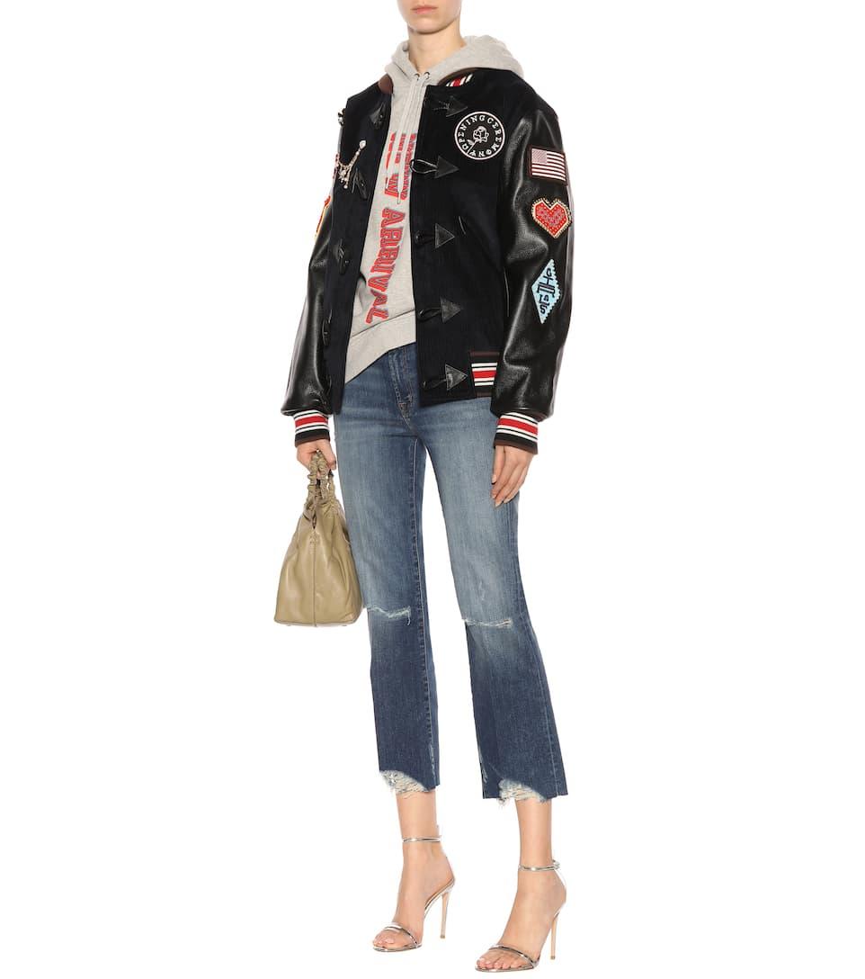 J Brand Cropped Jeans Selena