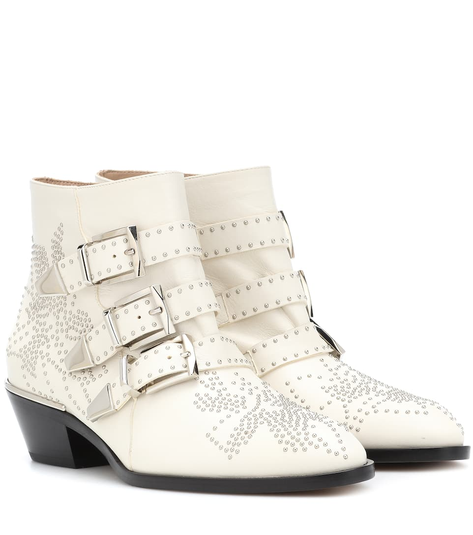 5c0d283d961c Susanna Studded Leather Ankle Boots
