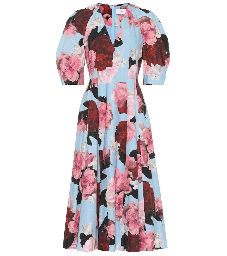 Coton Robe Artnbsp;p00390391 Imprimée N° Cressida ErdemExclusivité – En e2DWHE9IY
