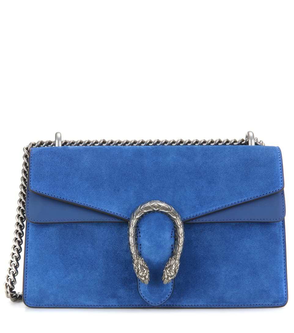 082bd2bd4c13d4 Gucci Dionysus Small Suede And Leather Shoulder Bag | Stanford ...