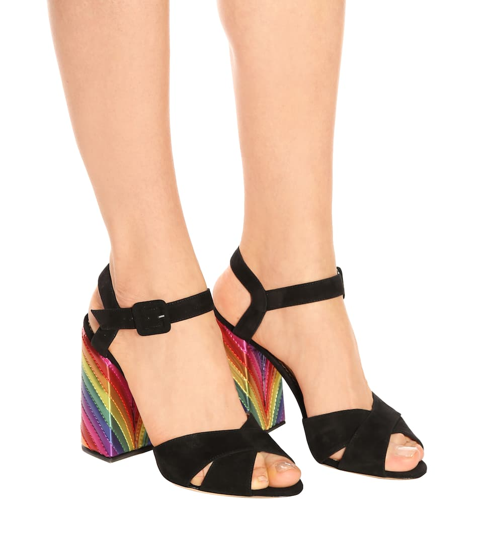 Charlotte Olympia Sandals Emma From Suede