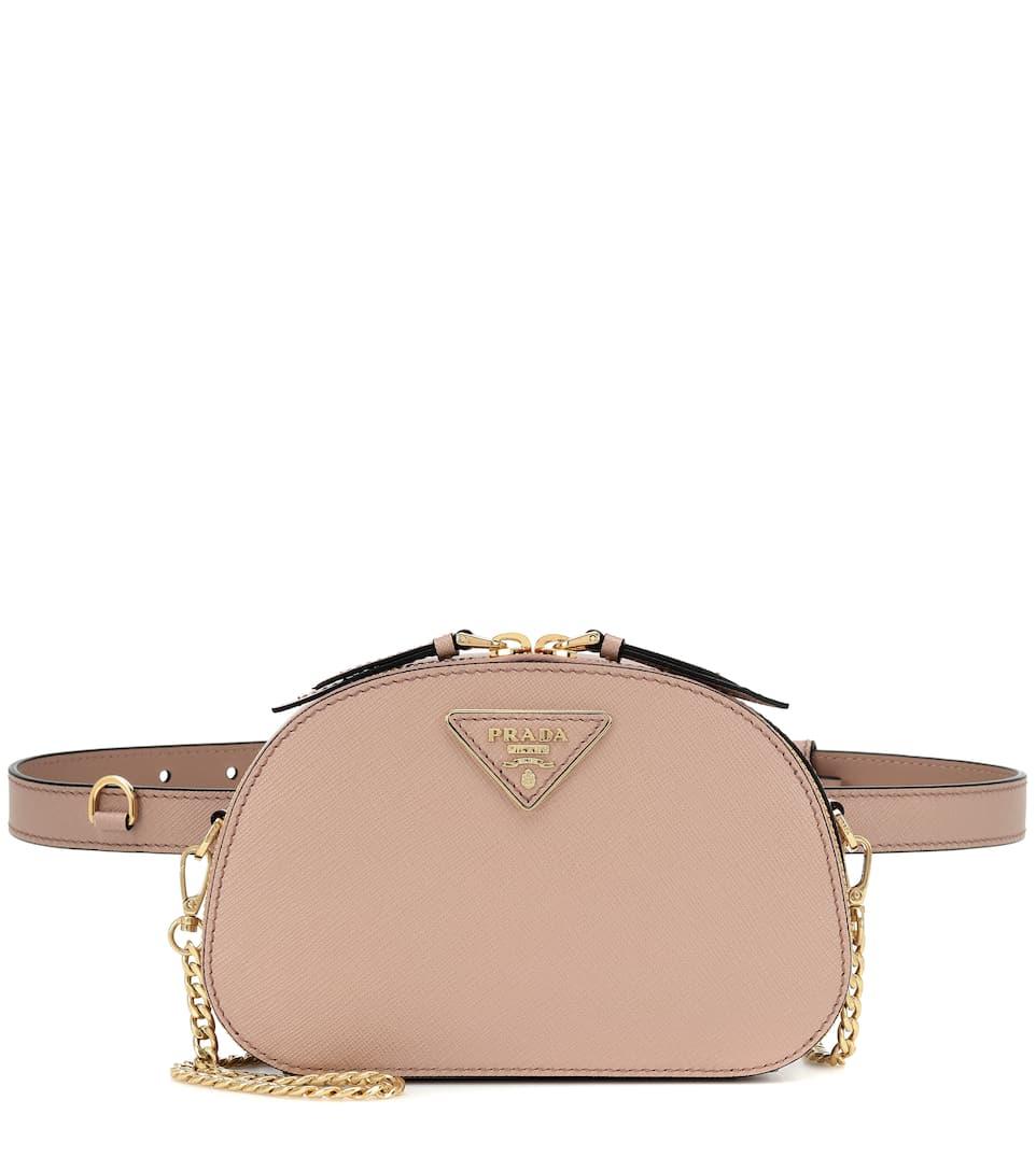 9a44beeb8 Prada - Odette leather belt bag | Mytheresa