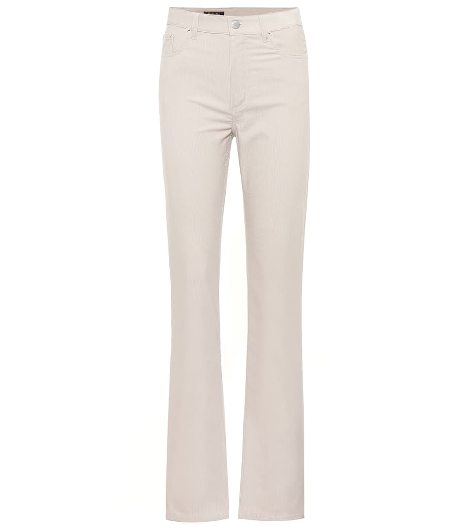Rodger Stretch Corduroy Straight Pants by Loro Piana