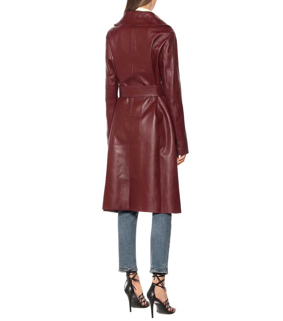 Schumacher Dorothee MytheresaCappotto Modern Esclusiva In Pelle Volumes N8Ovnm0w