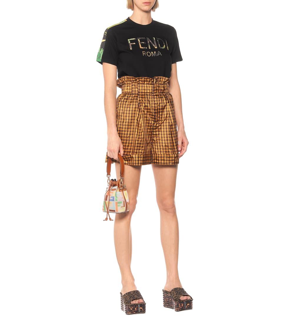 Logo Cotton T-Shirt - Fendi