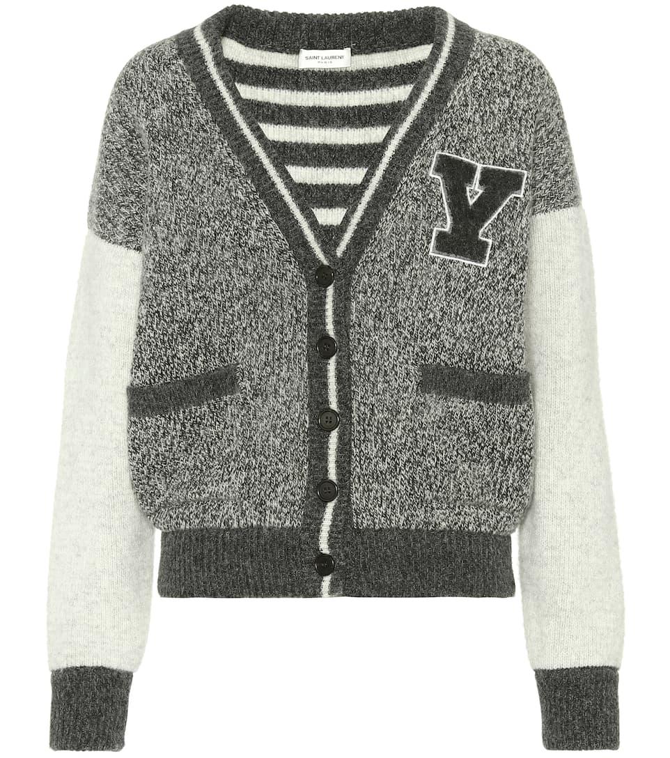 Saint Laurent Wool Cardigan