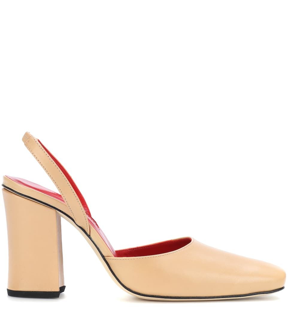 Dorateymur Slingback-Pumps Resort aus Leder