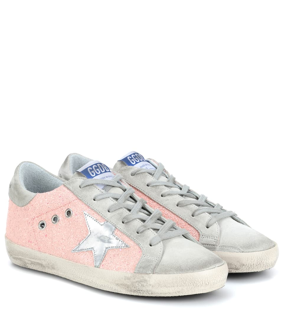 new styles e7396 c09c9 Exclusive To Mytheresa.com – Superstar Leather Sneakers   Golden Goose  Deluxe Brand - mytheresa.com