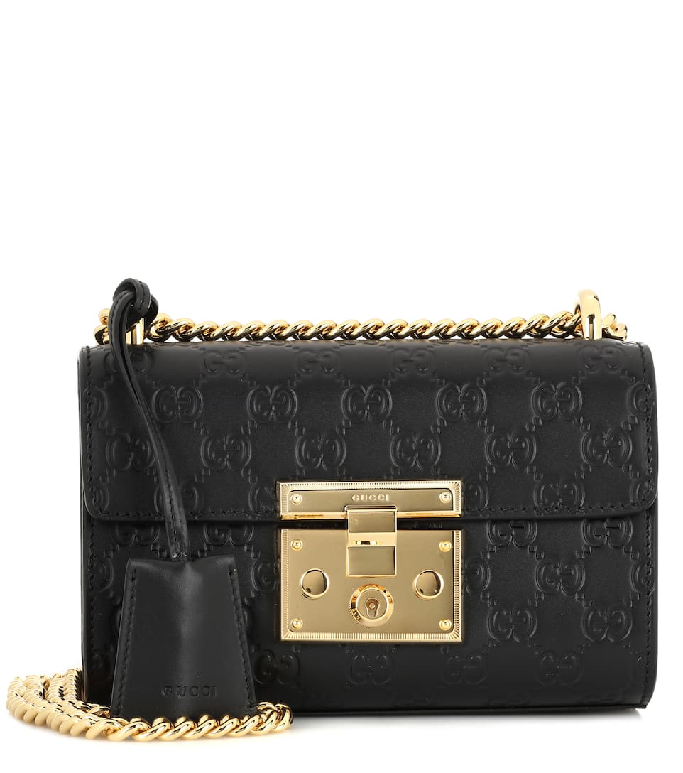61e5ab31dd7f Padlock Small Shoulder Bag With Chain - Gucci | mytheresa.com