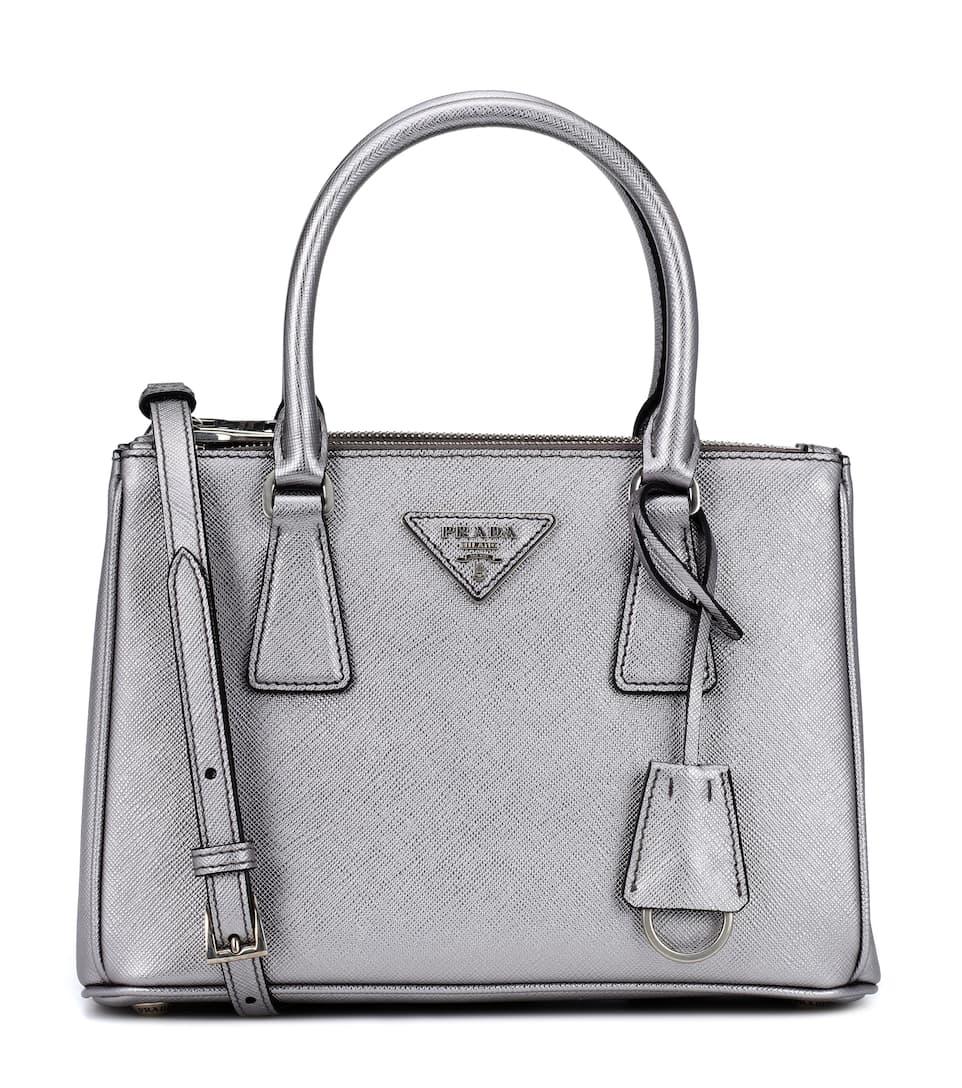 b98636811ba28a Shoptagr | Galleria Small Saffiano Leather Tote by Prada